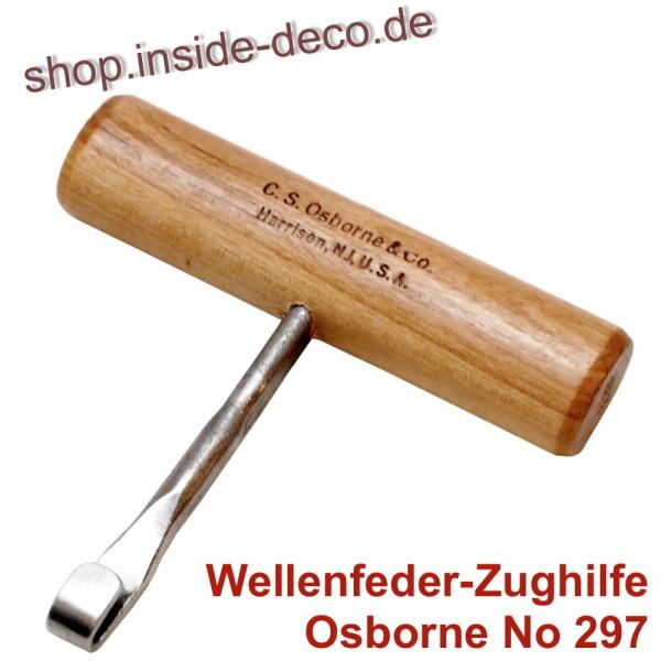 """""""Osborne No. 297"""" Nosagfeder - Spannhilfe für Wellenfedern"""